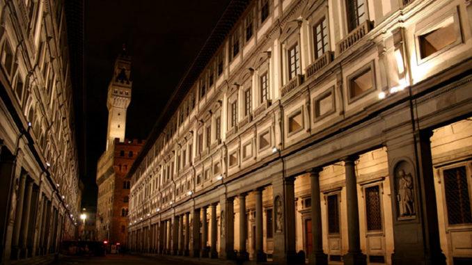 Галерея Уффици в Флоренции