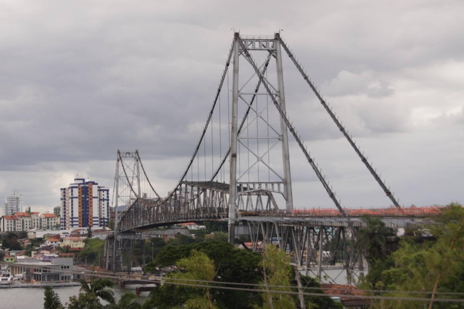 Херсилио Лус — самый длинный подвесной мост в Бразилии
