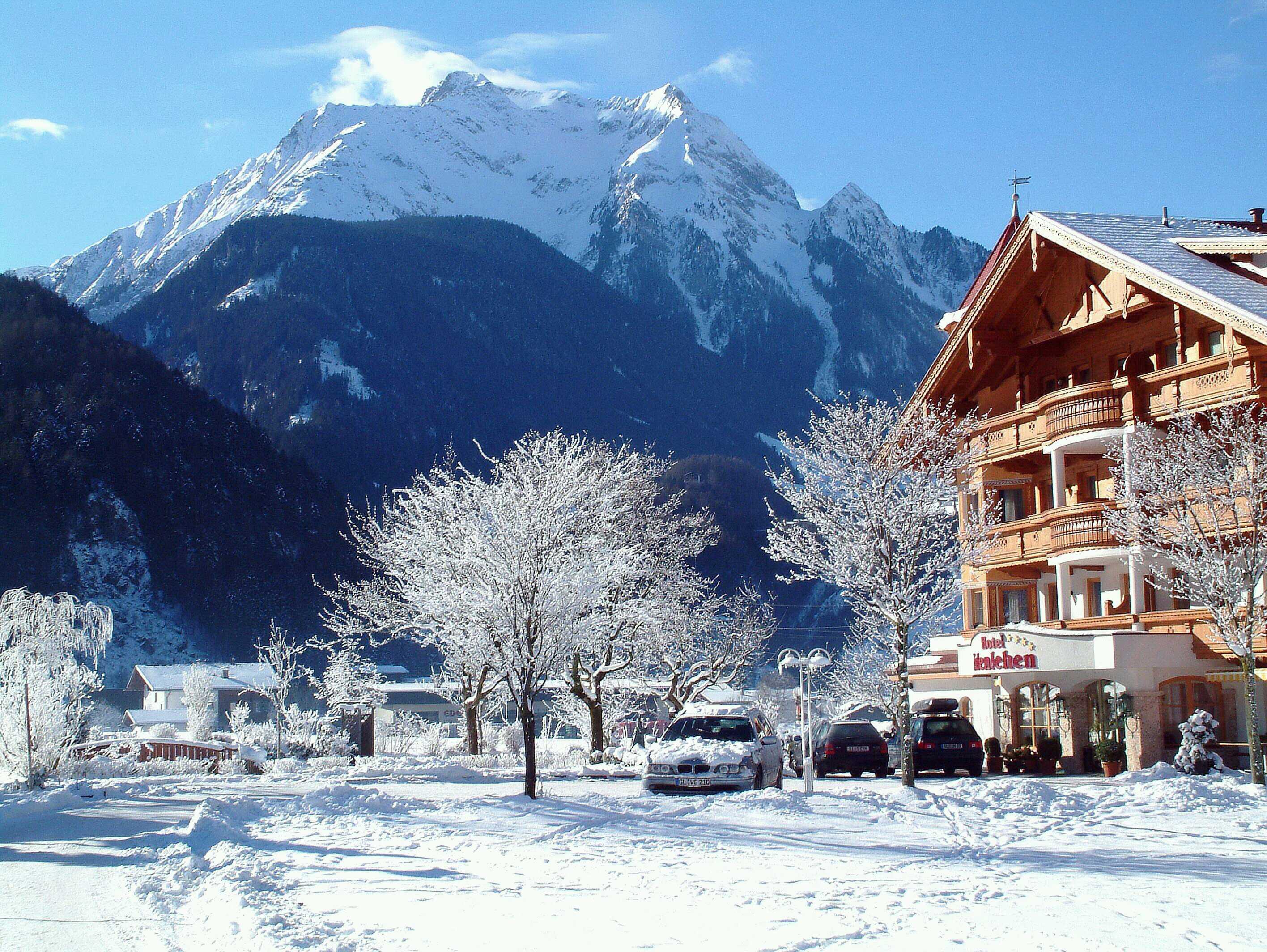 Горнолыжный курорт Австрии. Майрхофен