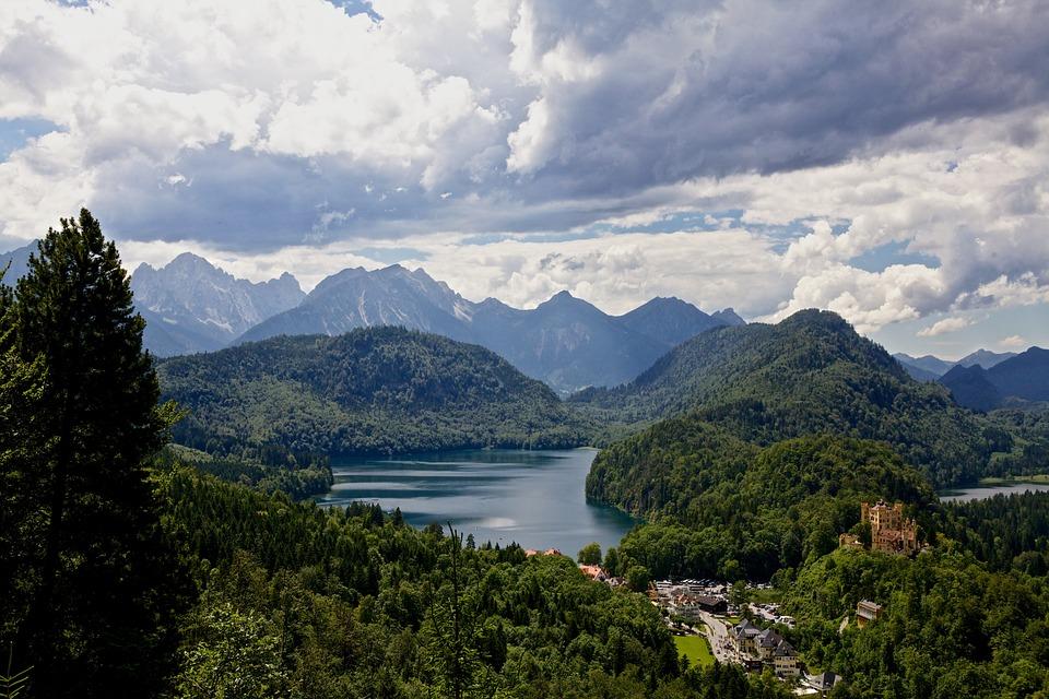 Бавария, Альпы