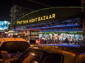 Ночной шоппинг в Патайе
