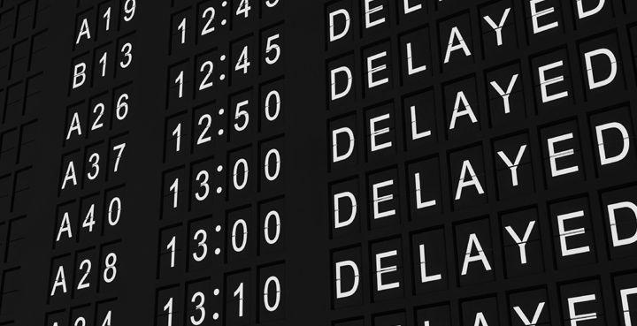 Действия пассажира при задержке авиарейса.