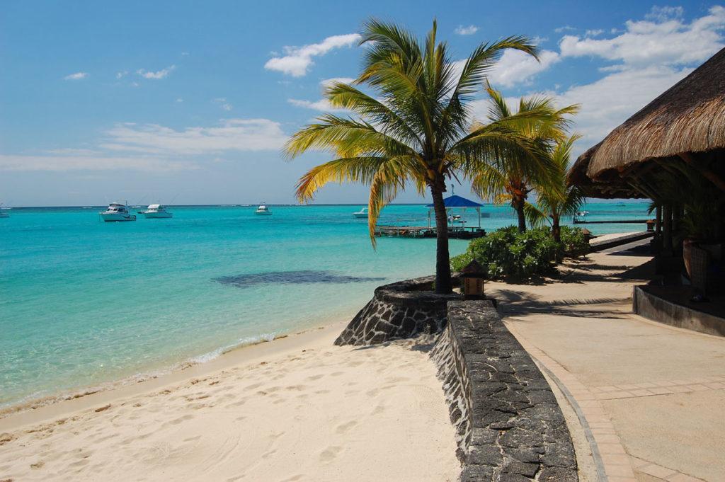 Пляж в Маврикии