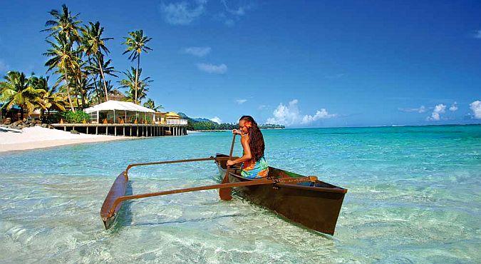 Райское место на островах Кука
