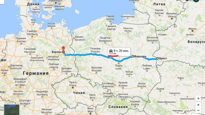 Как составить маршрут путешествия на автомобиле