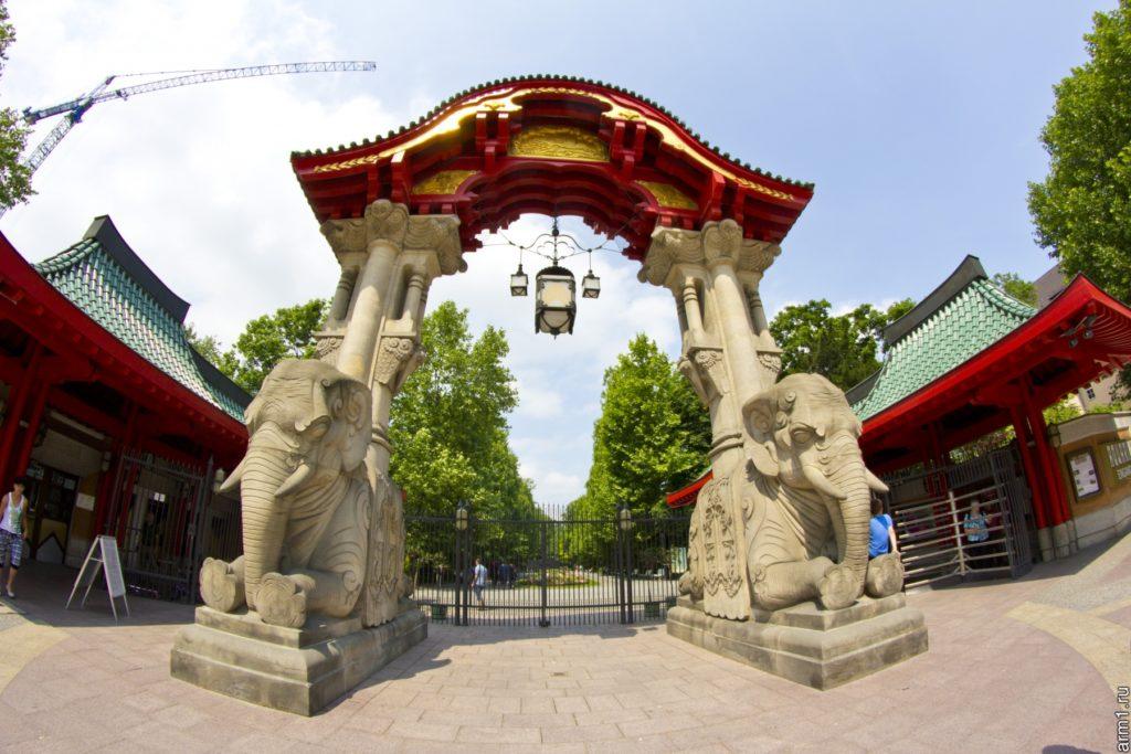 Слоновые ворота