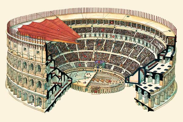 Стройка Колизея