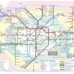Схема метро Лондона - London Underground